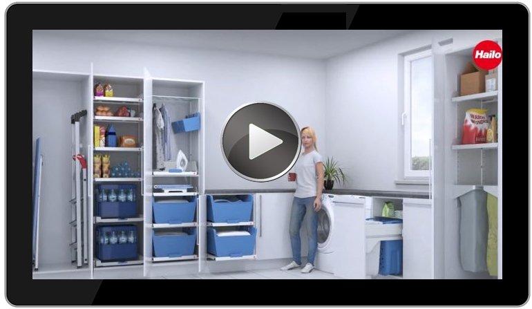 laundry area vom kompakten hauswirtschaftsraum zur. Black Bedroom Furniture Sets. Home Design Ideas
