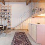 Sanierung eines Baudenkmals: Familie Manderscheid hat für sich selbst eine von Licht, Farbe und intelligentem Stauraum geprägte Wohnlandschaft gestaltet Foto:Johannes-Maria Schlorke