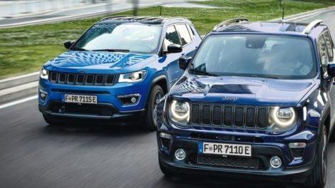 Jeep-Compass und Renegade im Vergleich