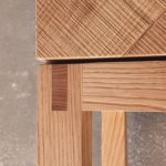 Möbelbau auf Mallorca: Kabinettschrank aus Kastanie - aus der Renaissance in die Gegenwart interpretiert Foto: Tina Winterhager