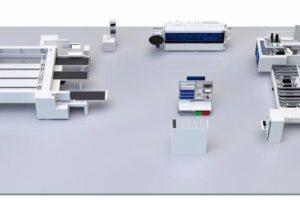 Digitales Werkstattkonzept: Eine Werkstatt mit wenigen aber vollständig digitalisierten Stationen
