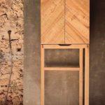 Möbelbau auf Mallorca: Der sauber gearbeitete Kabinettschrank im Stile von James Krenov Foto: Tina Winterhager