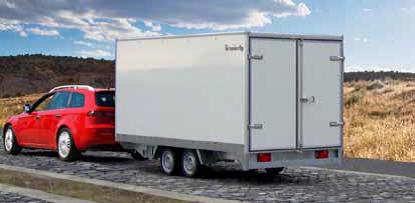 Pkw Anhänger Kofferaufbau Marktübersicht Dds Das Magazin Für Möbel Und Ausbau