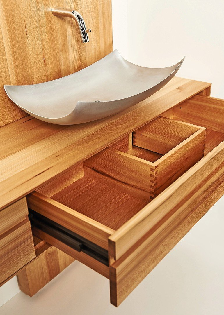 meisterst ck ein waschtisch vom tischler und schreiner. Black Bedroom Furniture Sets. Home Design Ideas