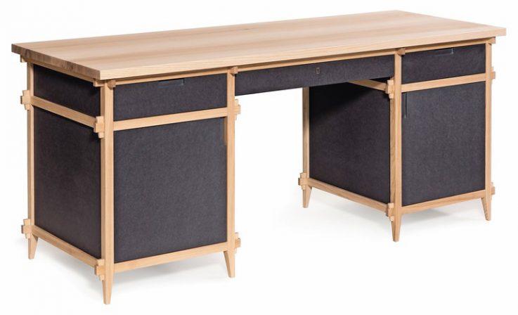 keine leichte sache meisterst ck schreibtisch von severin rubatscher dds das magazin f r. Black Bedroom Furniture Sets. Home Design Ideas