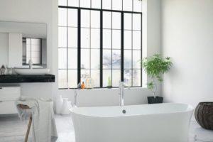Miralite Pure Spiegel in der AnwendungBathtub_in_the_modern_interior