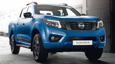 Nissan Navara N-Guard in der Launch-Edition in Electric Blue Foto: Nissan