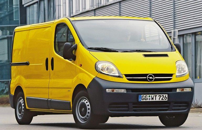 Der erste Opel Vivaro aus dem Jahr 2001