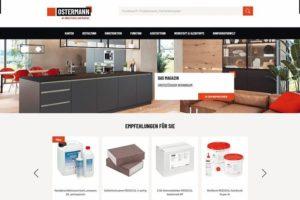 Der Ostermann-Shop erhält immer wieder neue Funktionen und bietet Konfiguratoren, die das Bestellen einfacher machen, jetzt auch aus dem eigenen System heraus. Rudolf Ostermann GmbH