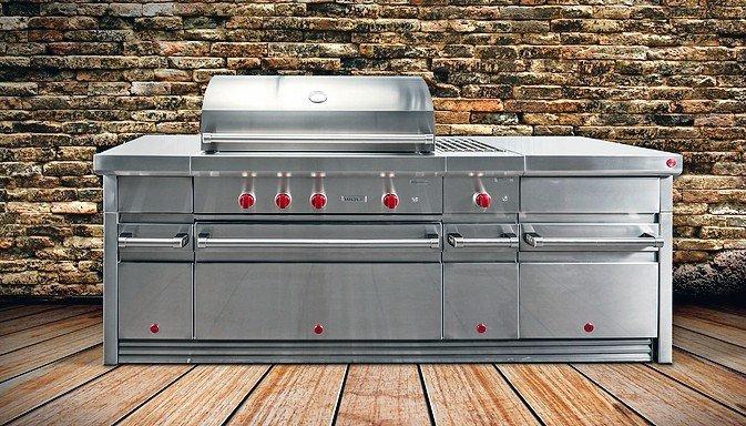 Outdoor Küche Edelstahl Zubehör : Die welt ist eine küche. geräte für das kochen unter freiem himmel