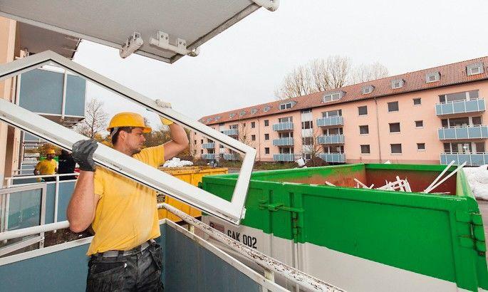 Zehn neue Rewindo-Stellen sammeln nun auch kleine Mengen PVC-Bauelemente Foto: Rewindo GmbH