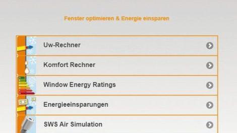 Swisspacer-Simulation »Caluwin«: Berechnungsgrundlage für die Planung Foto: Swisspacer Vetrotech Saint-Gobain (International) AG