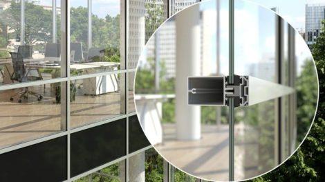 Blick in die Zukunft: Schüco Fassaden mit Vakuum-Isolierglastechnologie von AGC. Die beiden Hersteller arbeiten dazu bei Forschung und ENtwicklung zusammen Foto: Schüco International KG