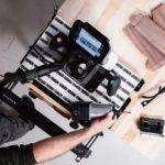 Digitale Robotik in einem Handwerkzeug – das Alleinstellungsmerkmal der Origin von Shaper Tools Foto: Shaper Tools