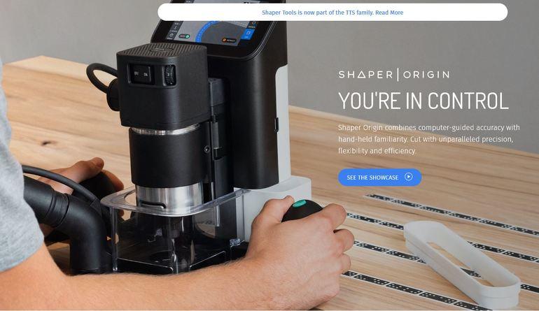 Shaper_Tools_Startseite