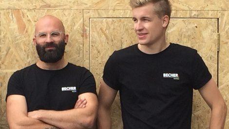 Das InoArt-Team: David Wolf (l.) und Erik Bechtold