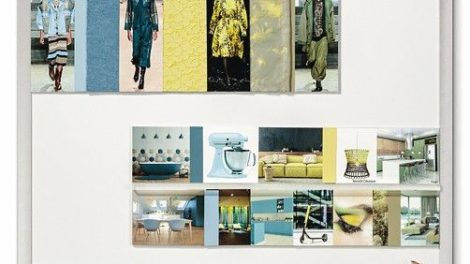 Farbwelt »Elements« aus dem Colour Road Trend Report 2021/22 von Renolit Foto: Renolit SE