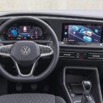 Dicgitales Cockpit im VW Caddy Modelljahr 2021