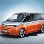 Der neue T7 Multivan rückt optisch näher an die Pkw-Familie von Volkswagen heran Fotos: Volkswagen