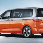 VW T7 Multivan: Erstmalig gibt es bei VW horizontal zweigeteilte Heckleuchten Foto: Volkswagen