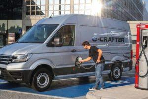 VW e-Crafter: Handwerker profitieren vom Konjunkturpaket der Bundesregierung für Transporter mit E-Antrieb