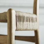 Der »Wishbone Chair« ist das erste Modell, das Hans J. Wegner exklusiv für Carl Hansen & Son entworfen hat. Der Stuhl wird seit 1950 kontinuierlich produziert Fotos: Carl Hansen & Son