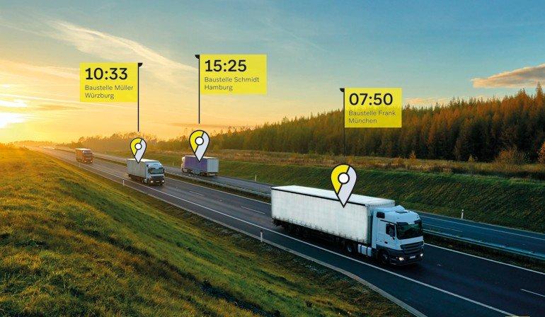Weru-Partner wissen jetzt per App immer, wo sich ihre Lieferung befindet und können diese in Echtzeit nachverfolgen. Foto: Weru