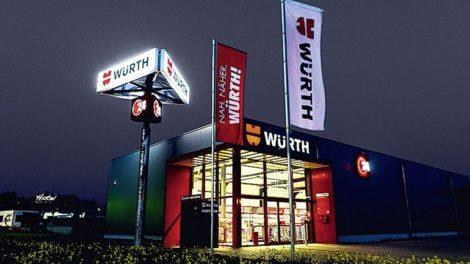 Würth wächst dank E-Business und Multikanalstrategie nicht nur 2019 mit einem Rekordumsatz, sondern auch im ersten Quartal 2020 Foto: Würth