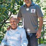Von seinem Vater Tanos (84) hat Joe das Handwerk gelernt Foto: Erol Gurian