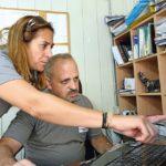 Ehefrau Micheline unterstützt Joe und das ganze Team im Backoffice Foto: Erol Gurian