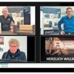 dds- Redakteur Johannes Niestrath führte durch den ersten Teil des Digitalen Praxistags von dds und BM und entlockte den Referenten Impulse für den Möbel- und Innenausbau Foto: Foto: dds, Konradin Medien
