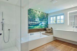 Einbau eines modernen Wellness-Bads in einer ehrwürdigen Stadtvilla Foto: Hasenkopf GmbH & Co. KG