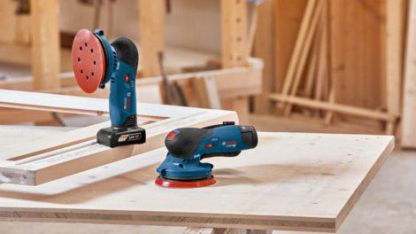 Gewinne im Oktober einen von zehn Akku-Exzenterschleifern GEX 12V-125 Professional von Bosch mit Zubehör Foto: Robert Bosch GmbH
