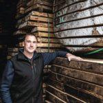 Mike Kriwet liefert Holz für den Möbelhersteller Janua