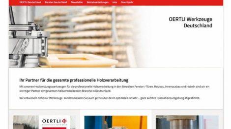 Werkzeughersteller Oertli arbeitet im Netz mit kurzen Wegen und schlankem Design Oertlie Werkzeuge AG